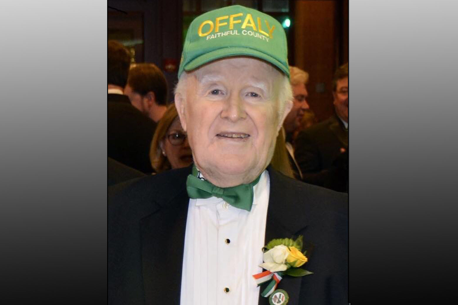 Just days after sharing Grand Marshal duties with his wife in the city's St. Patrick's Day parade he founded 37 years ago, Pat Troy has died at age 76. (Photo credit: Kimberly Bryce)