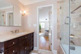 The master bathroom. (Courtesy Sean Shanahan)