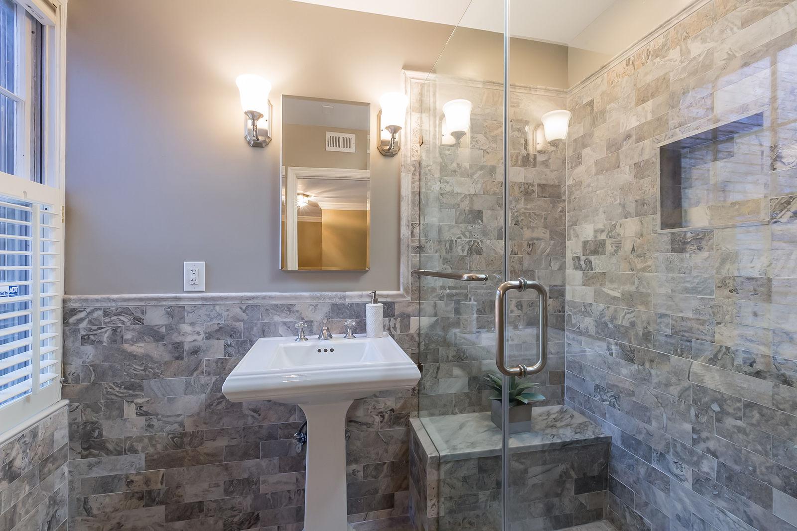 The second bathroom of the house. (Courtesy Sean Shanahan)