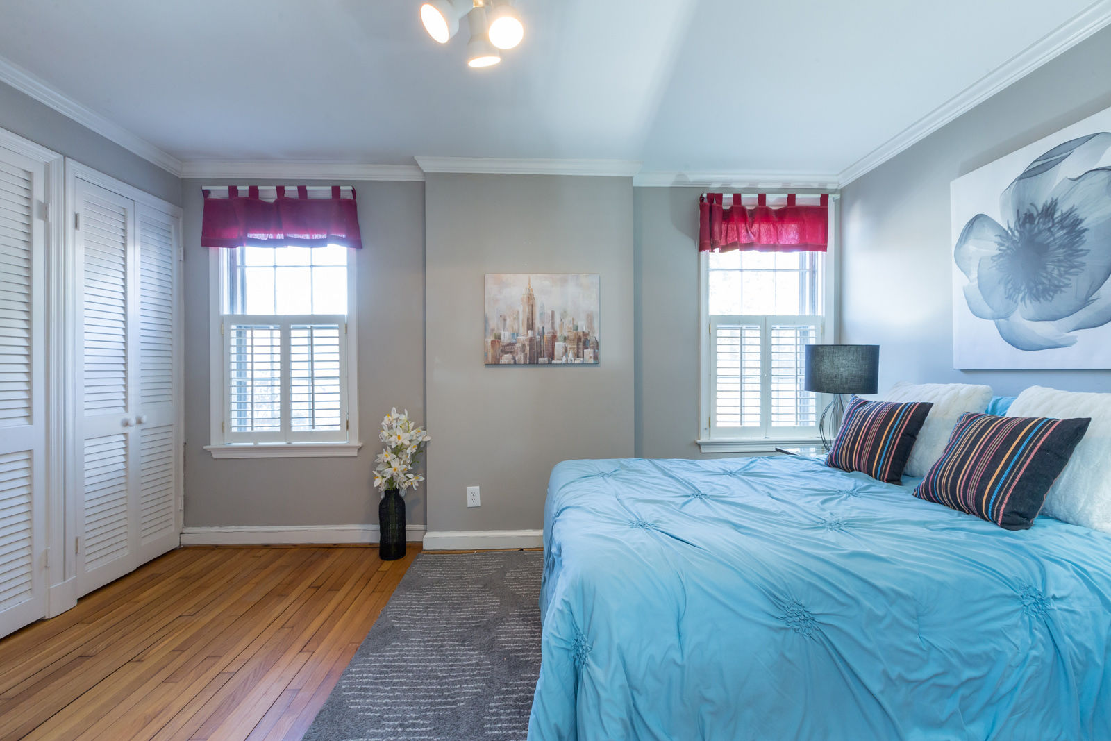 One of three bedrooms in the house. (Courtesy Sean Shanahan)