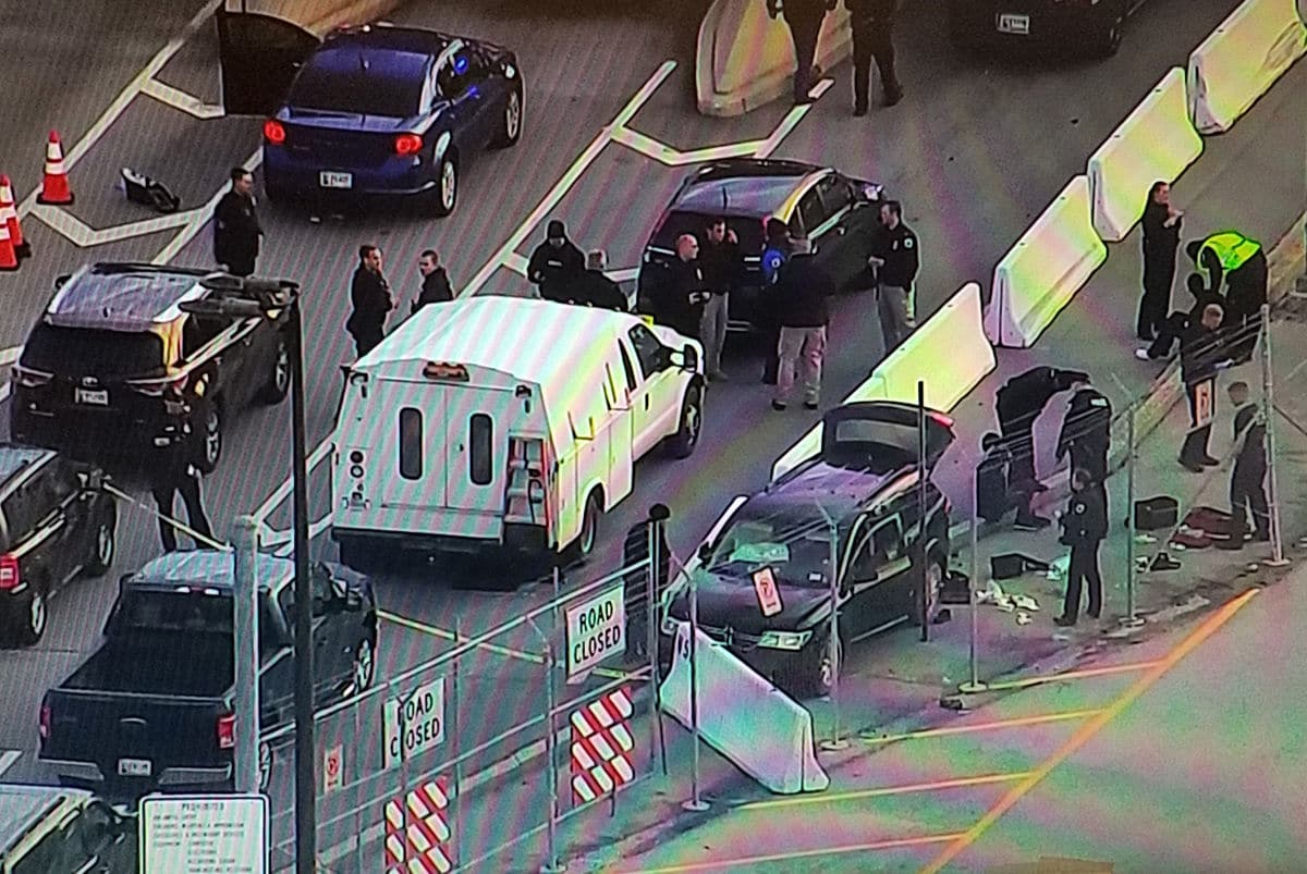 Police are responding to a possible shooting near NSA HQ in Maryland. (NBC Washington)