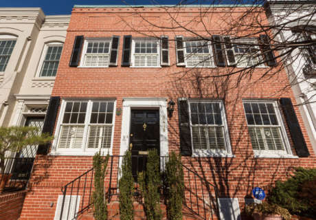 Georgetown town house where JFK met Jackie to hit the market (Photos)