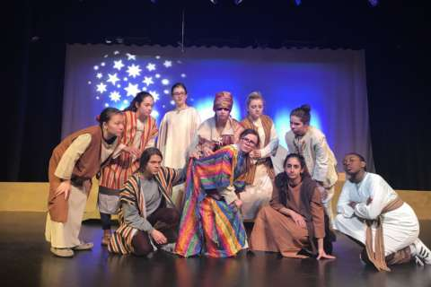 Lights on, sound down: Md. high school makes musical for youth with autism