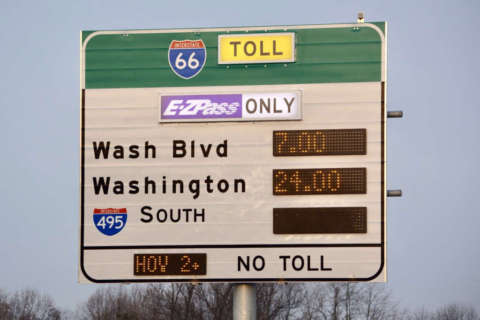 You could save on I-66 tolls by changing when you leave