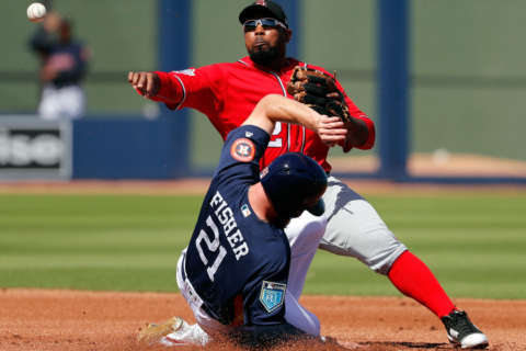 PHOTOS: Nats fall in Spring Training opener