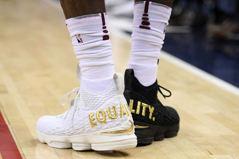 5cfe8c018b70 NBA players step toward equality in limited edition sneakers