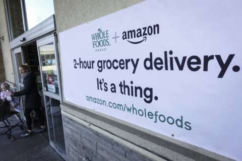 A lot of what you buy online, you eat