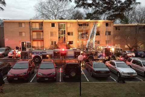 $1.3M in damage after 4-floor apartment fire in Silver Spring