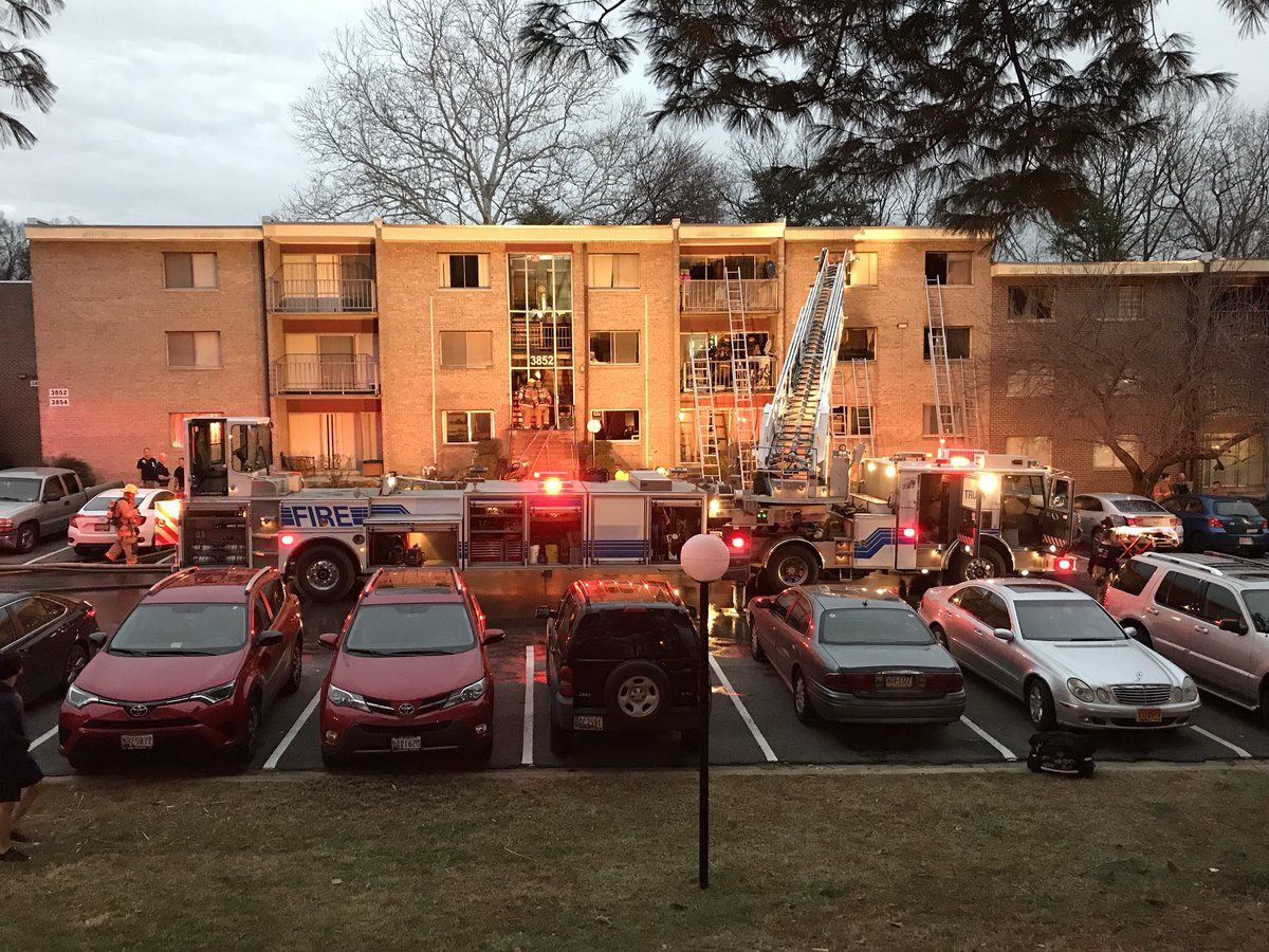 1 3m In Damage After 4 Floor Apartment Fire In Silver