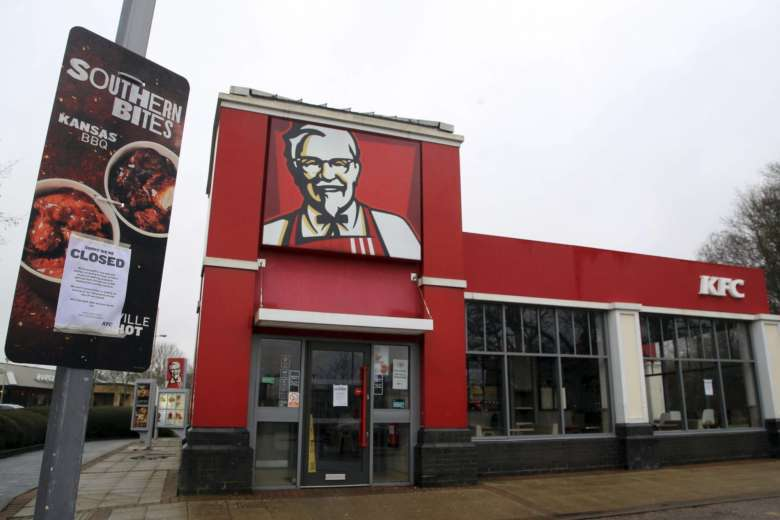 Feathers Fly As Chicken Shortage Shuts Kfcs Across Britain Wtop