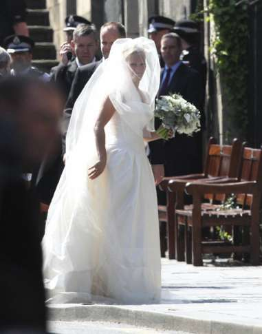 File In This Saay July 30 2017 Photo Zara Phillips Arrives At Canongate Church Edinburgh Scotland For Her Marriage To Mike Tindall