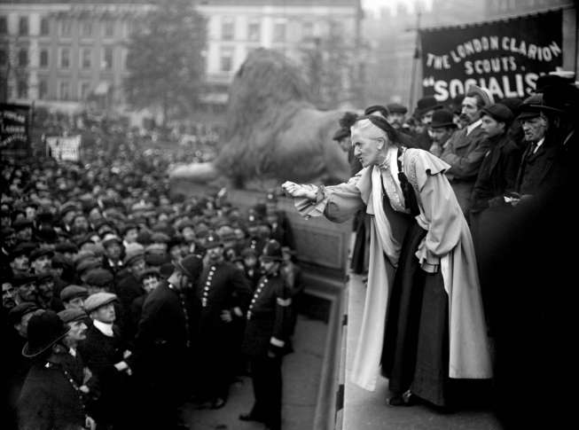 Home Secretary Amber Rudd tells Piers Morgan that pardoning suffragettes is
