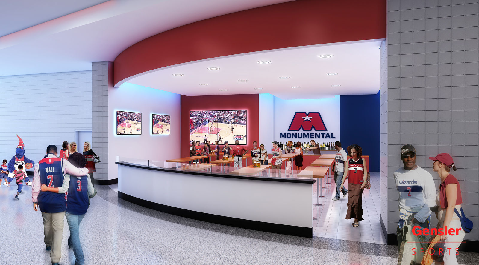The renovations will begin at the end of the 2017-2018 NBA and NHL seasons and are expected to be completed by fall 2018. (Courtesy Gensler Sports)