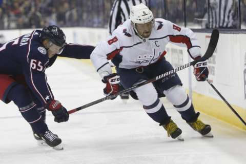 Alex Ovechkin delivers in Capitals' series-clinching win in Columbus