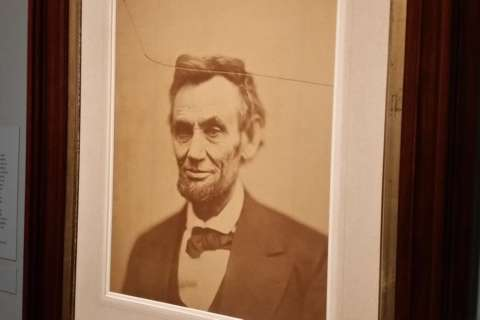 Portrait gallery marks Presidents Day with haunting last photo of Lincoln