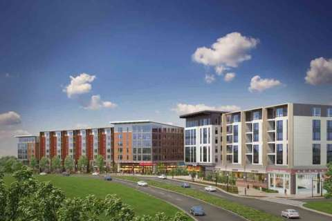 VY/Reston Heights opens luxury apartments, retail in downtown Reston