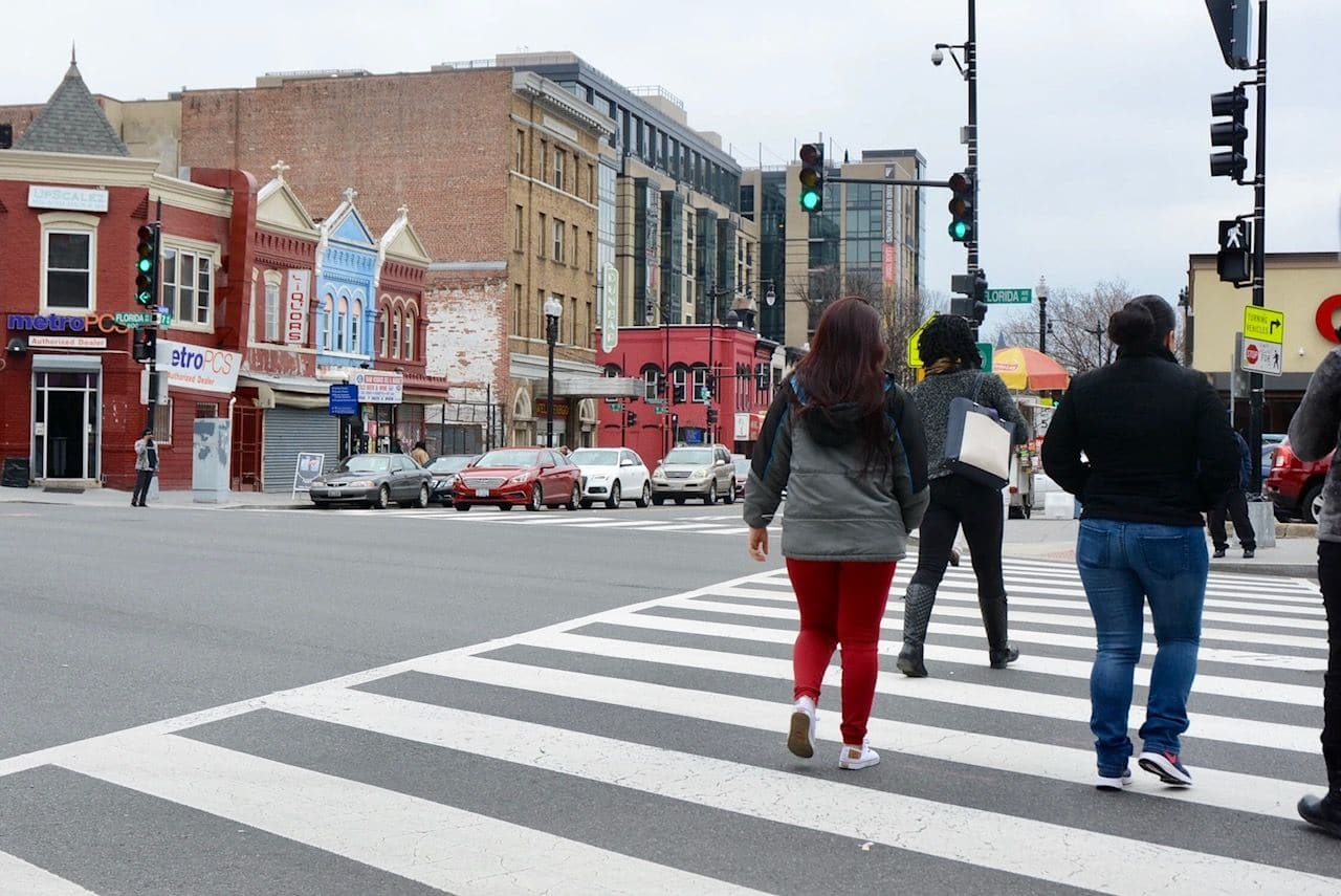 "In 2016, the District launched its ""Vision Zero"" plan, with the ambitious goal of eliminating traffic fatalities and serious injuries by 2024. (WTOP/Dave Dildine)"