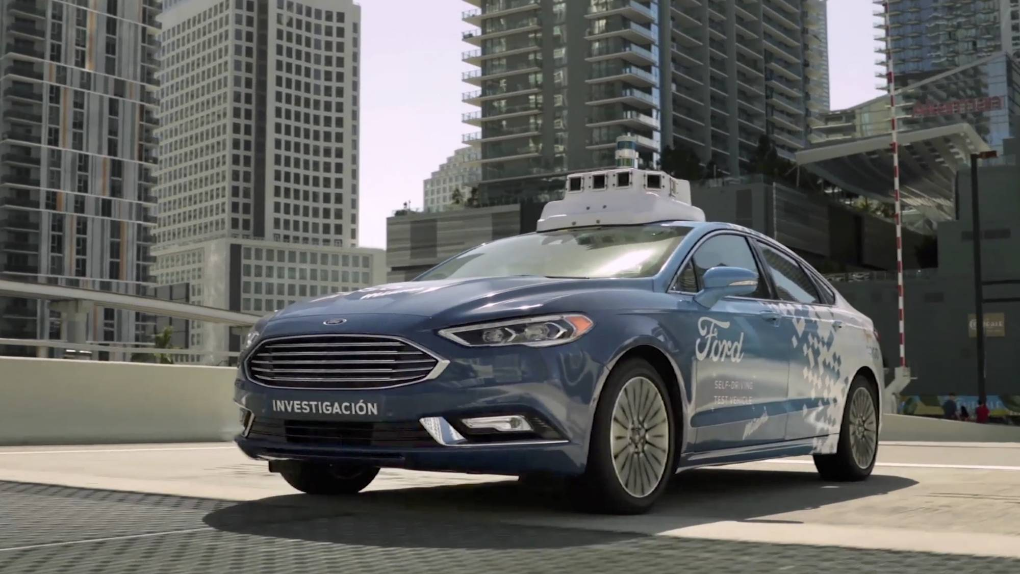 Ford and miami to form test bed for self driving cars wtop for Ford motor company news headlines