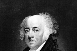 circa 1796:  John Adams (1735 - 1826), the 2nd President of the United States of America (elected 1796).  (Photo by Hulton Archive/Getty Images)