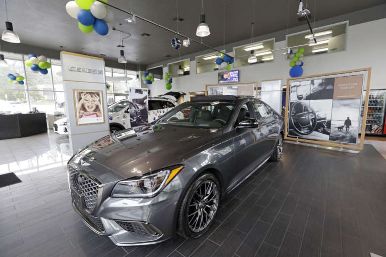 Genesis The New Luxury Brand From Hyundai Took Top Spot In Consumer Reports 2018 Report Card Rankings This Photo Taken Thursday