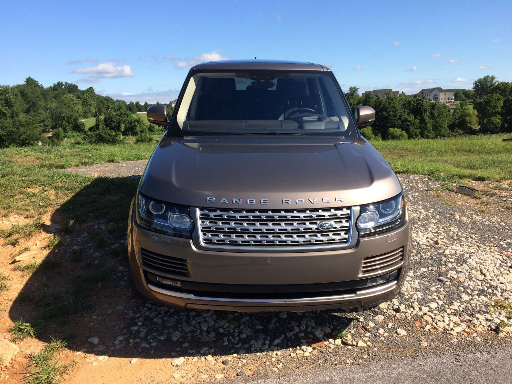Parris said the model he drove was on the lower scale for Range Rover trim levels at just $93, 645. (WTOP/Mike Parris)