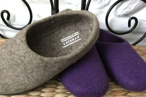 Slippers with a soul: Kyrgies blend wool tradition with living-wage jobs for women