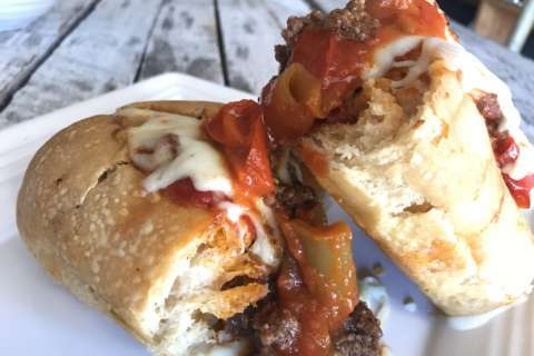 West Virginia's iconic pepperoni roll pops up in DC