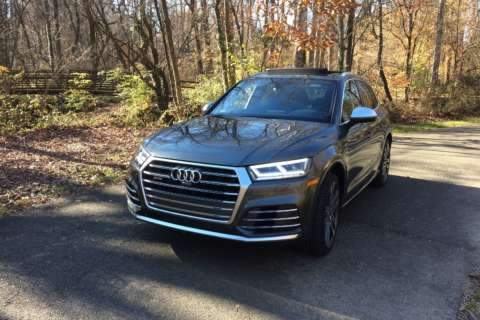 2018 Audi SQ5 combines a sporty ride with crossover utility