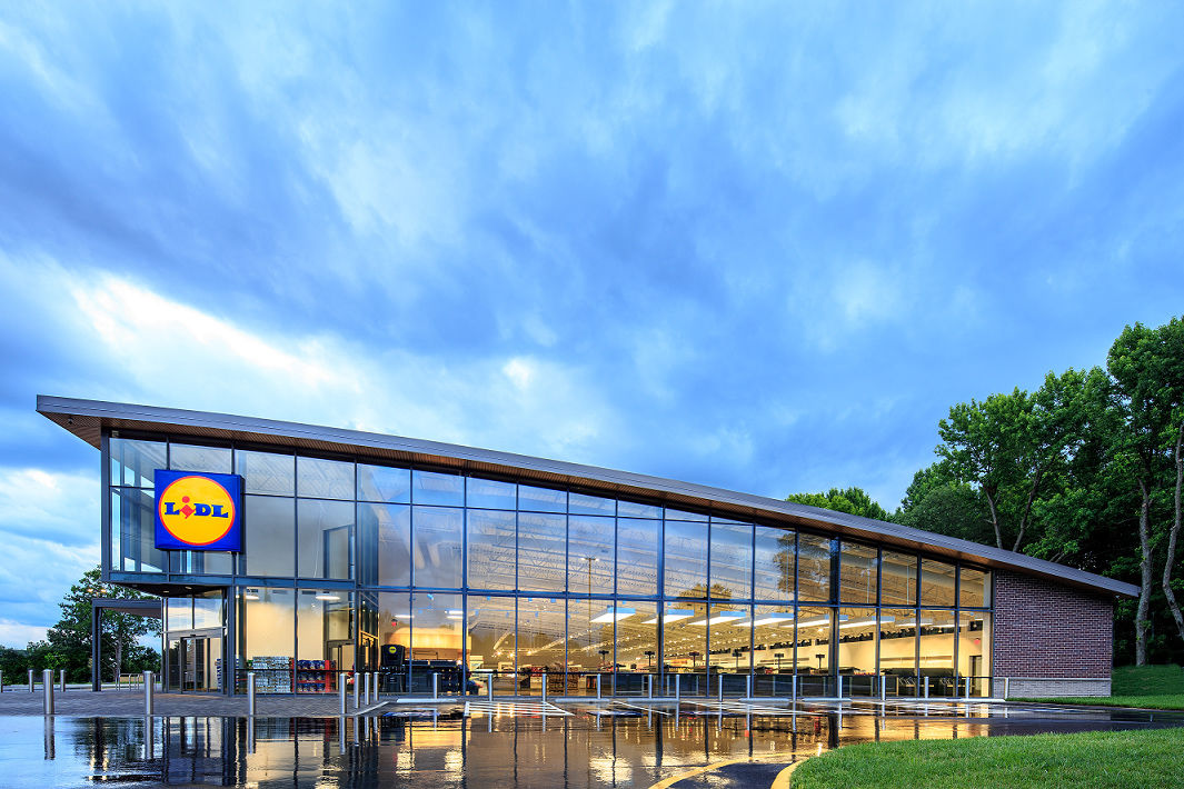 Lidl has said it plans to open more than 100 East Coast stores eventually. (Courtesy Lidl)