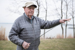 """Bernard """"Lefty"""" Kreh, a legendary fly fisherman who fished with everyone from Jimmy Carter to Fidel Castro to Ernest Hemingway passed away Wednesday at the age of 93. He grew up in Frederick, Maryland. (Courtesy Lefty Kreh's Tie Fest via Facebook)"""