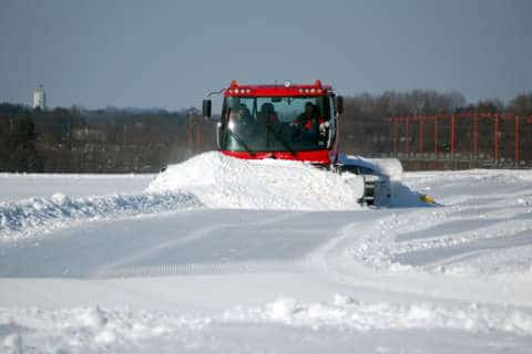 BWI Marshall's new snow groomer goes where plows can't
