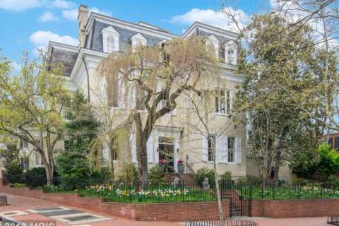 Georgetown East Village mansion tops January sales at $7.4M