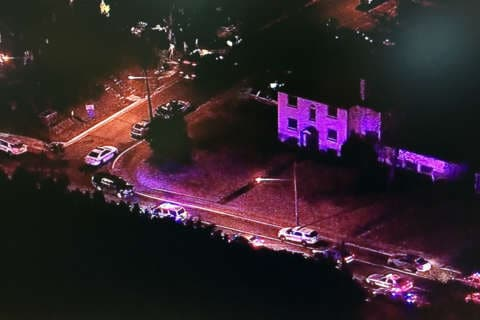 Stabbed in the face, Md. sheriff's deputy treats his own injuries at College Park standoff