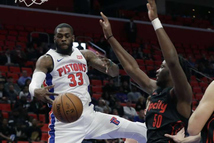 Pistons top Nets to win 5th in a row