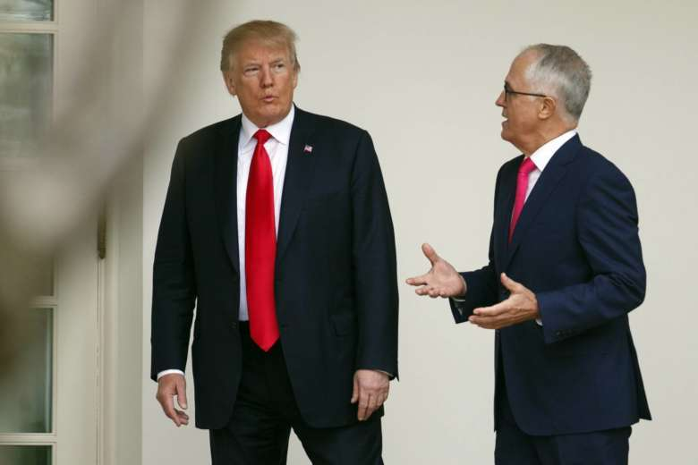 Turnbull jets off to meet US President Donald Trump at White House
