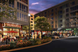 The mixed-use development is located at 11830 Sunrise Valley Drive in downtown Reston. (Courtesy VY/Reston Heights)