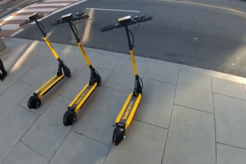 Waybots' scooters join DC's dockless bike-share experiment