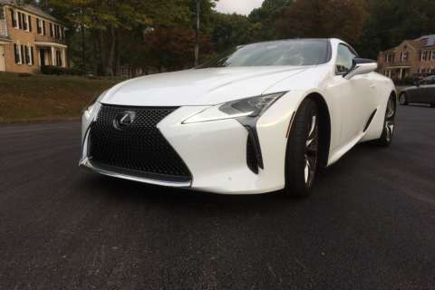 Have money to spend? Put the Lexus LC 500 coupe on the short list