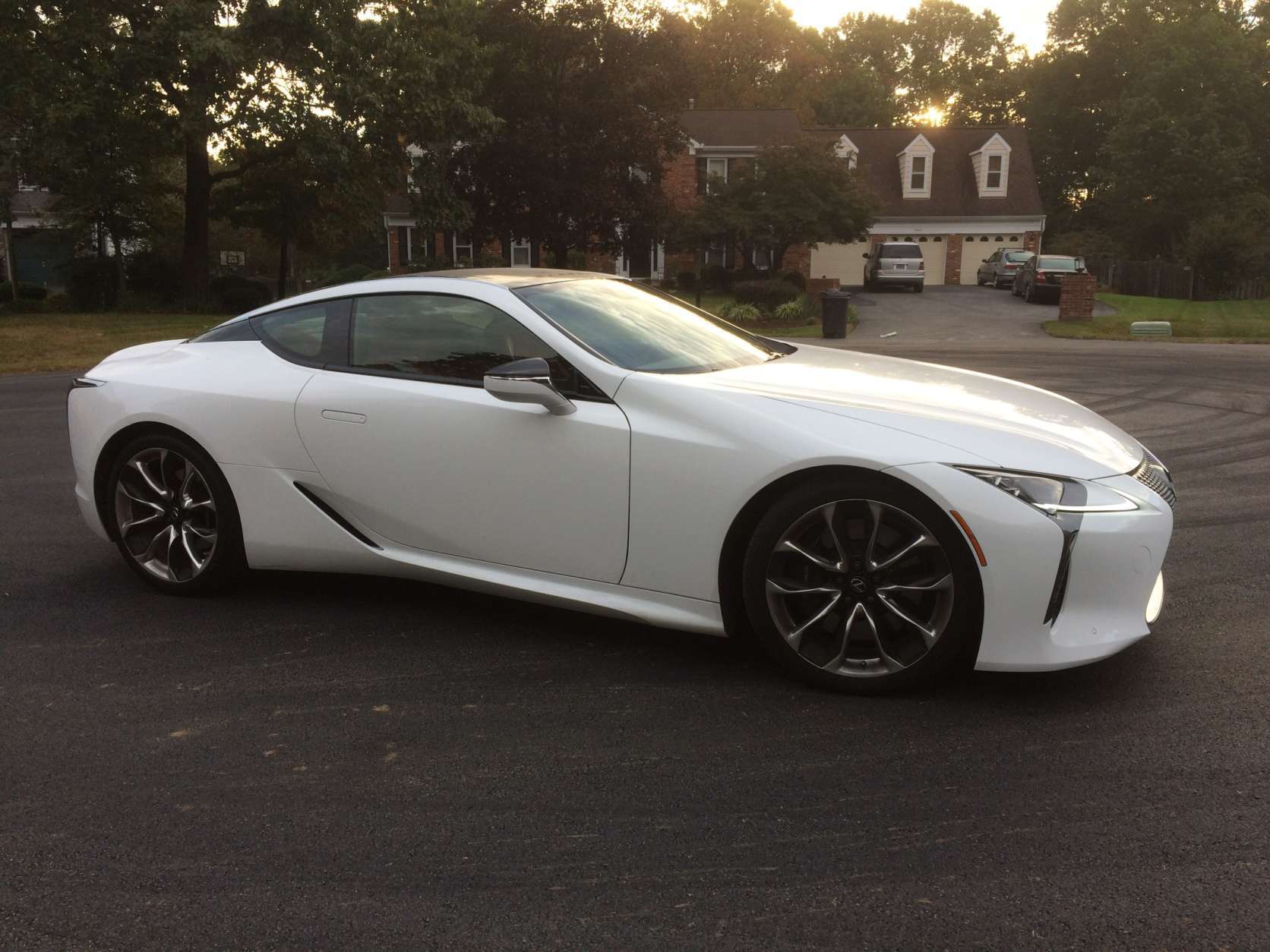 The Lexus LC 500 coupe's starting price is around $93,000