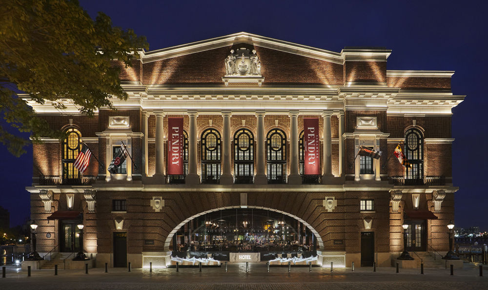 The Sagamore Pendry Baltimore ranked No. 3 among Maryland hotels. (Courtesy U.S. News)