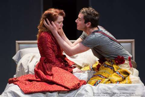 Shakespeare Theatre Company stages 'Hamlet' with modern espionage twist