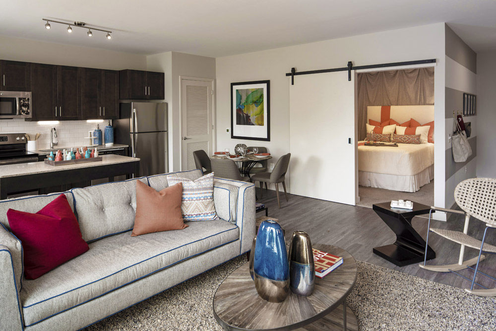 Rental options include one-,two- and three-bedroom apartments and two-level loft units. (Courtesy VY/Reston Heights)