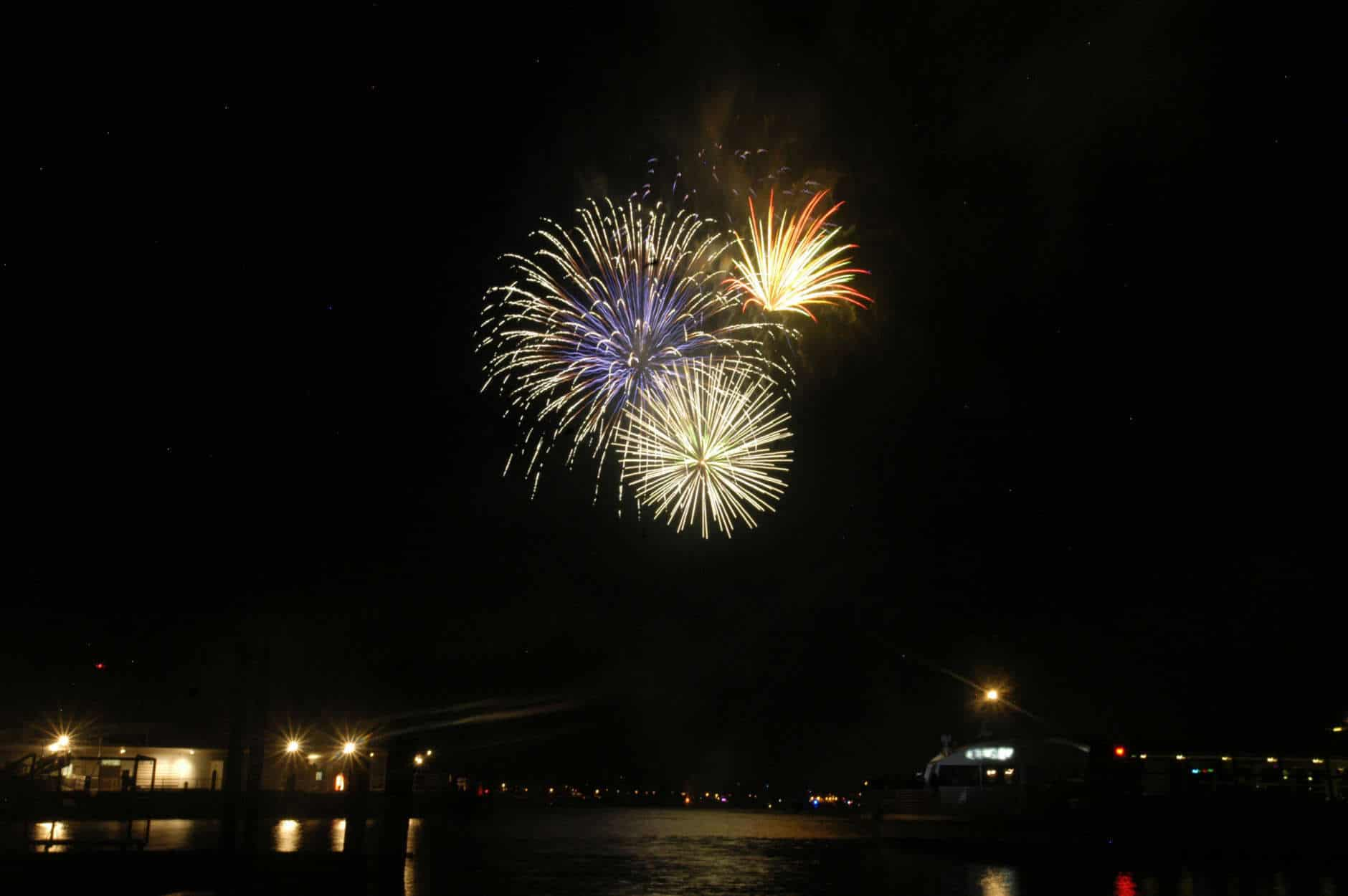 Weather permitting, you can enjoy fireworks at the Wharf during Petapalooza on Saturday, April 7. (Courtesy National Cherry Blossom Festival)