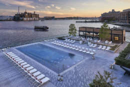 The waterfront hotel has an infinity pool. (Courtesy U.S. News)