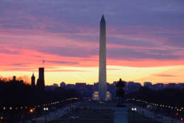 The Washington Monument is one of D.C.'s most popular monuments. (WTOP/Dave Dildine)
