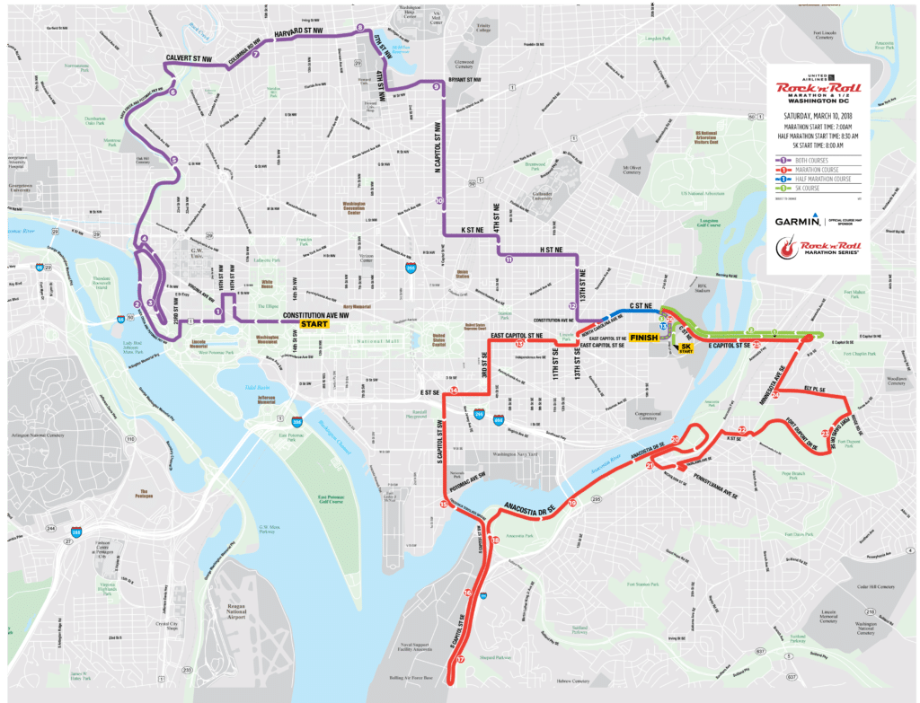 Road closures in DC for Rock \'n\' Roll Marathon start to lift | WTOP