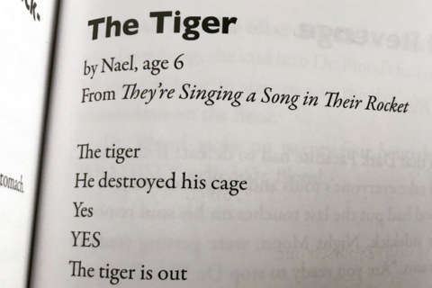 6-year-old's 'Tiger' poem takes Twitter by storm