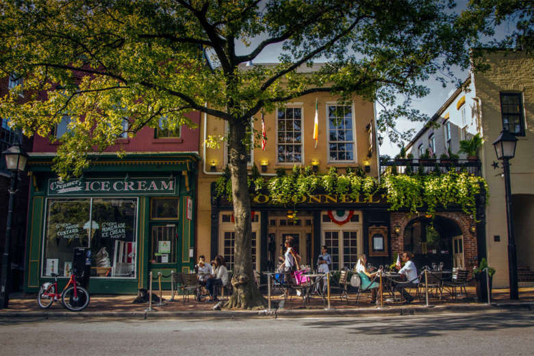 Bars And Restaurants In Old Town Alexandria Va