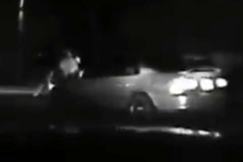 Virginia driver faces charges after running over himself (Video)