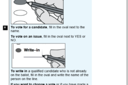 The new ballot requirements being set by the State Board of Elections after a disputed mismarked ballot last fall ended up deciding control of a key House of Delegates race. (Courtesy Virginia State Board of Elections)